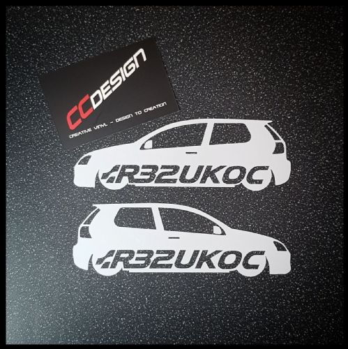 """OFFICIAL"" MK 5 R32UKOC STICKER"